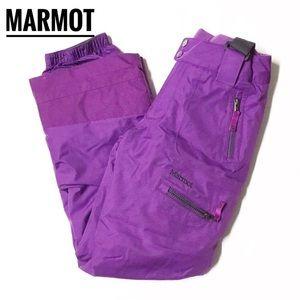 MARMOT • Purple Gray Starstruck Ski Pant Sz Large